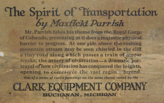 Spirit of Transportation Tag