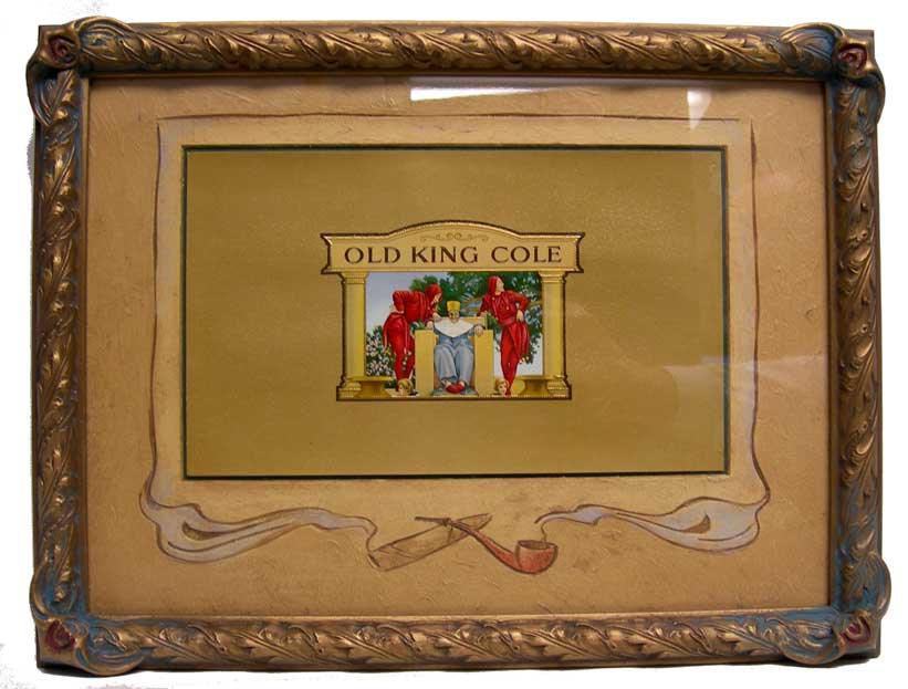 Old King Cole Tobacco Label